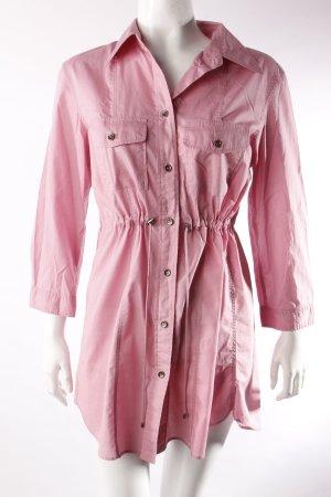 Strenesse Blue Hemd-Blusen-Kleid rosa