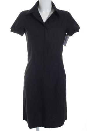 Strenesse Blue Hemdblusenkleid schwarz schlichter Stil