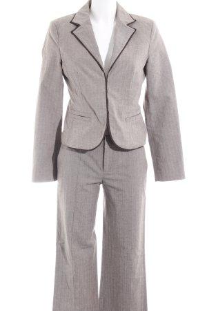 Strenesse Blue Tailleur pantalone marrone-grigio puntinato Stile Brit