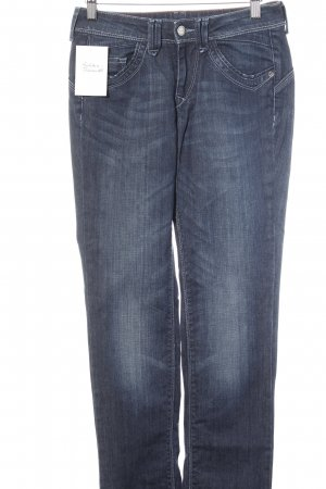 Strenesse Blue Low Rise Jeans dark blue casual look