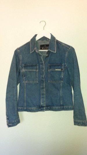 Strenesse Blue Jeansjacke klassisch modern zeitlos Gr. S