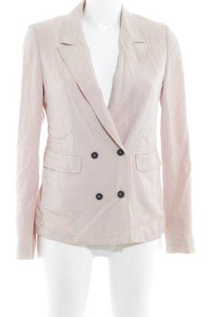 Strenesse Blue Blazer in jersey rosa pallido stile casual