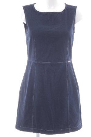 Strenesse Blue Jerseykleid dunkelblau-wollweiß Casual-Look