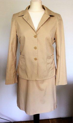 Blue Strenesse Ladies' Suit cream-beige cotton