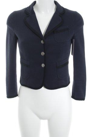 Strenesse Blue Kurz-Blazer dunkelblau-schwarz Business-Look