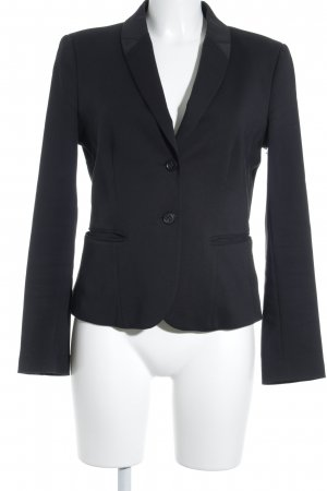 Strenesse Blue Kurz-Blazer schwarz Business-Look