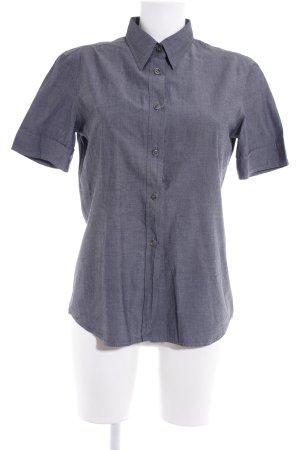 Strenesse Blue Kurzarmhemd dunkelgrau College-Look