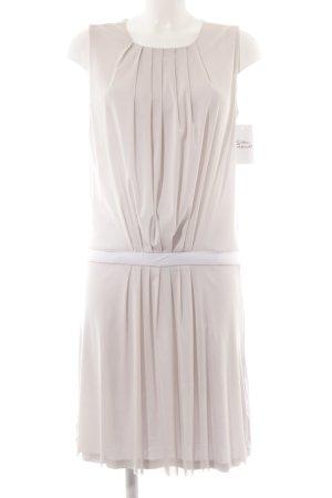 Strenesse Blue Vestido de manga corta gris claro elegante