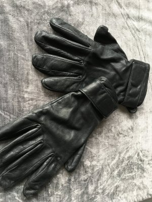 Strenesse Blue Gloves black leather