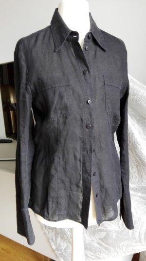 Strenesse BLUE Leinenbluse schwarz Gr.34
