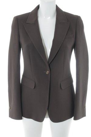 Strenesse Blue Blazer lungo marrone-nero stile professionale