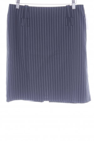 Strenesse Blue Minirock dunkelgrau-weiß Business-Look