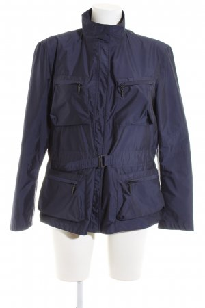 Strenesse Blue Outdoor Jacket blue casual look
