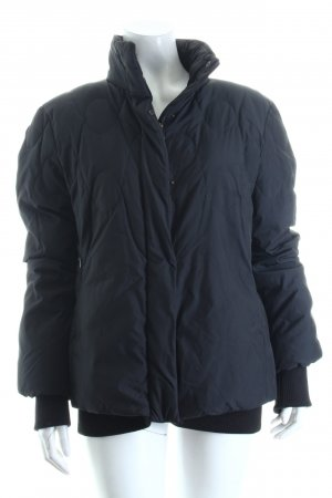 Strenesse Blue Parka schwarz Steppmuster Casual-Look