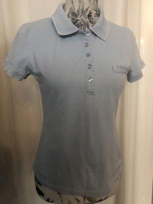 Blue Strenesse Polo shirt azuur