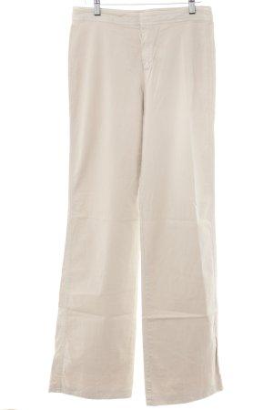 Strenesse Blue Pantalón de campana beige look Boho