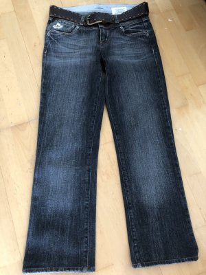 Strenesse Blue schwarze Jeans, Regular Fit, Gr 26, ungetragen