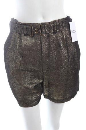 Strenesse Blue Shorts goldfarben extravaganter Stil