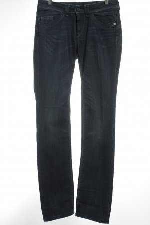 Strenesse Blue Jeans slim fit blu scuro-bianco sporco look pulito
