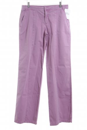 Strenesse Blue Pantalone jersey viola stile casual