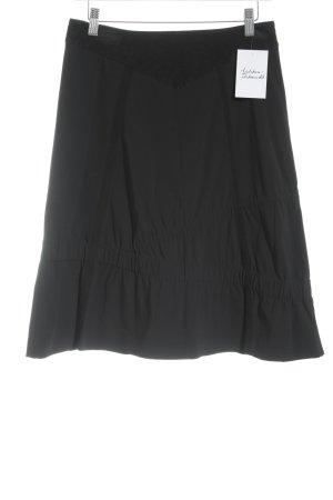 Strenesse Blue Stretchrock schwarz klassischer Stil