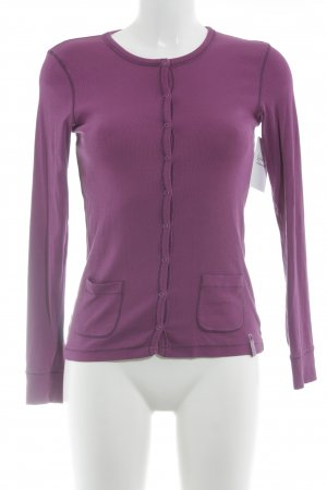 Strenesse Blue Strickjacke magenta Casual-Look