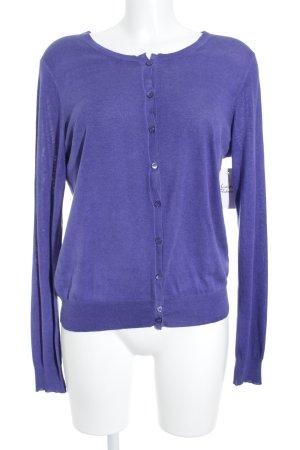 Strenesse Blue Strickpullover blauviolett Street-Fashion-Look