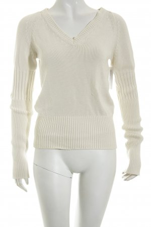 Strenesse Blue Strickpullover creme Casual-Look