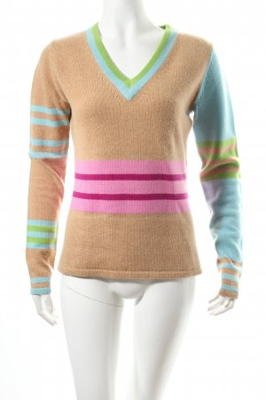 Strenesse Blue Strickpullover Streifenmuster Casual-Look