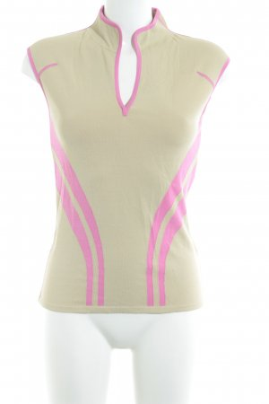Strenesse Blue Camicia maglia crema-rosa stile casual