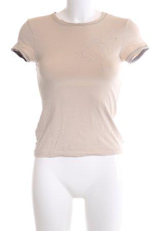 Strenesse Blue T-Shirt creme-hellgrau Casual-Look