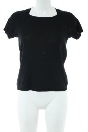 Strenesse Blue T-Shirt schwarz Casual-Look