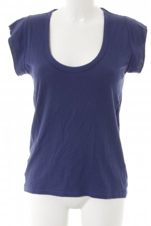 Strenesse Blue T-Shirt dunkelblau Casual-Look