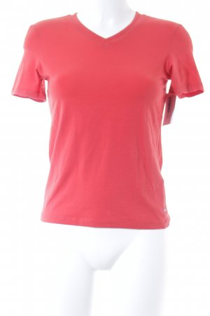 Strenesse Blue T-shirt rosso stile casual