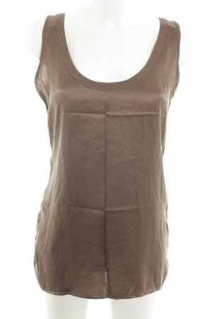 Strenesse Blue Tank Top light brown casual look