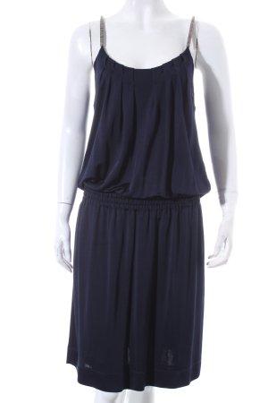 Strenesse Blue Trägerkleid silberfarben-dunkelblau Party-Look