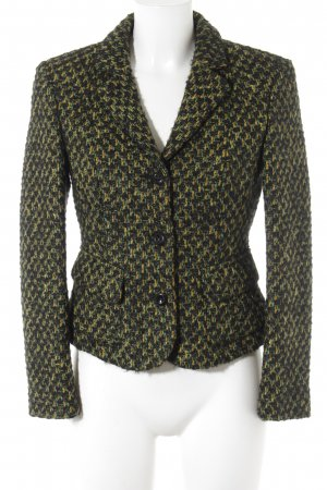 Strenesse Blue Wool Blazer abstract pattern elegant