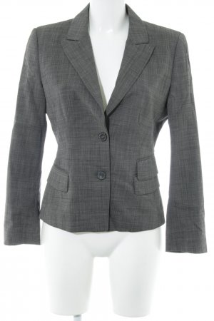 Strenesse Blue Wool Blazer anthracite-black brown pinstripe business style