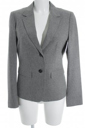 Strenesse Blue Woll-Blazer grau meliert Business-Look