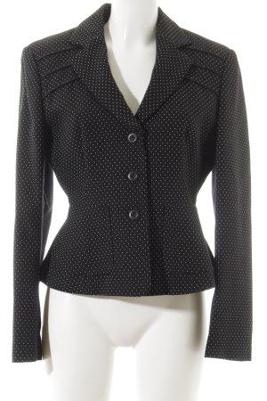 Strenesse Blue Woll-Blazer schwarz-weiß Business-Look