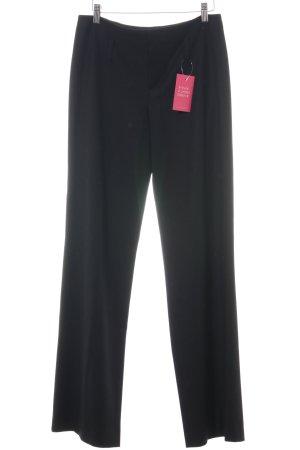 Strenesse Blue Pantalon en laine noir style d'affaires