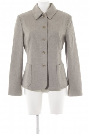 Strenesse Blue Giacca di lana grigio puntinato stile casual