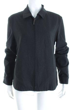 Strenesse Blue Wolljacke schwarz minimalistischer Stil