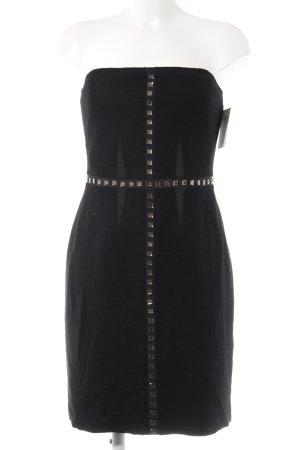 Strenesse Blue Vestito di lana nero elegante