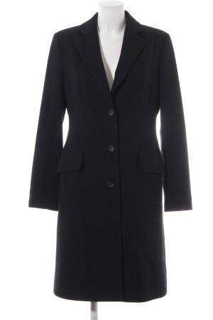 Strenesse Blue Cappotto in lana nero elegante