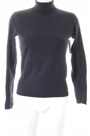 Strenesse Blue Wollpullover dunkelblau Casual-Look
