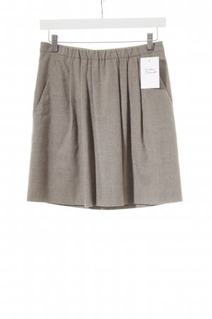 Strenesse Blue Wool Skirt grey brown business style