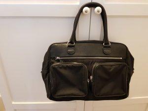 Strenesse Gabriele Strehle Bowling Bag black leather