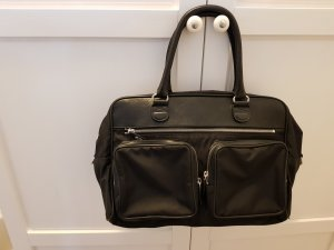 Strenesse Gabriele Strehle Bowling Bag black leather