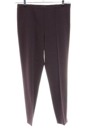 Strenesse Pantalón de pinza lila estilo «business»
